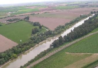 Río Guadalquivir a su paso por la Comarca